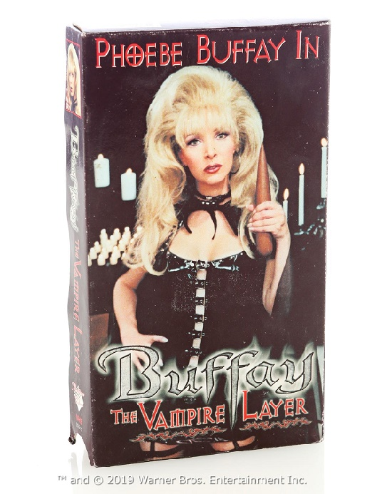 Ursula Buffay's 'Buffay The Vampire Layer' VHS tape (Image: Prop Store)