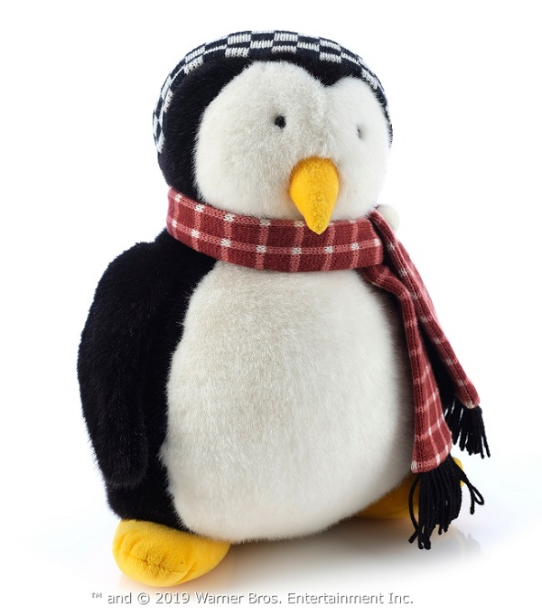 The original screen-used Huggy, Joey's bedtime penguin pal (Image: Prop Store)