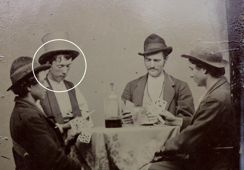 According to the auction house, Old West forensic photo experts have identified Billy the Kid using facial recognition technology (Image: Sofe Design Auctions)