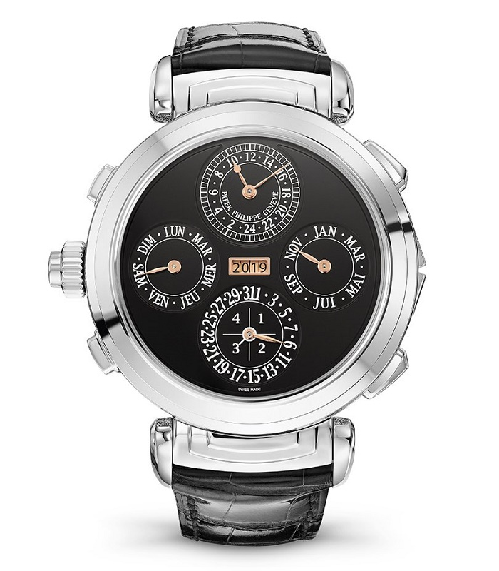 The Patek Philippe Grandmaster Chime watch, which sold at the 2019 Only Watch charity sale in Geneva for $31 million (Image: Christie's)