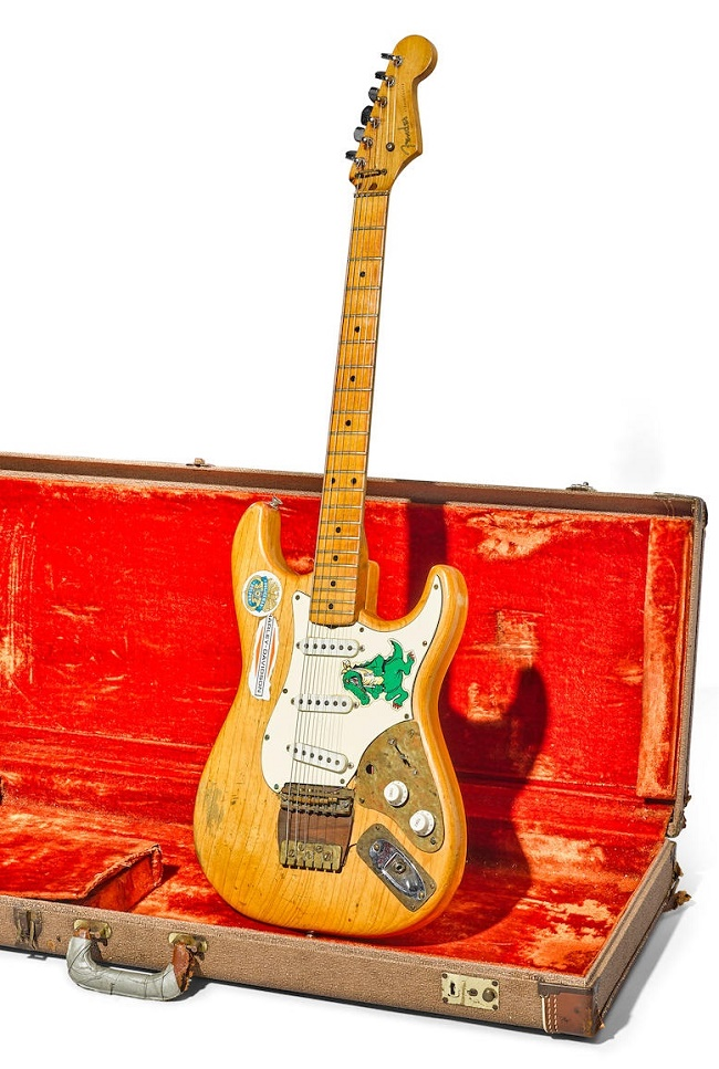 Jerry Garcia's Alligator guitar, estimated at $250,000 - $400,000 (Image: Bonhams)