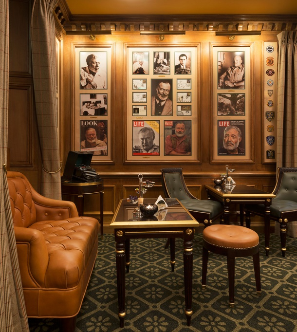 Bar Hemingway at the Ritz Hotel in Paris (Image: Christie's / Vincent Leroux)