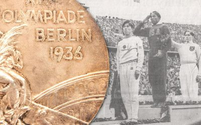 Jesse Owens 1936 Berlin Olympic gold medal up for sale at Goldin Auctions