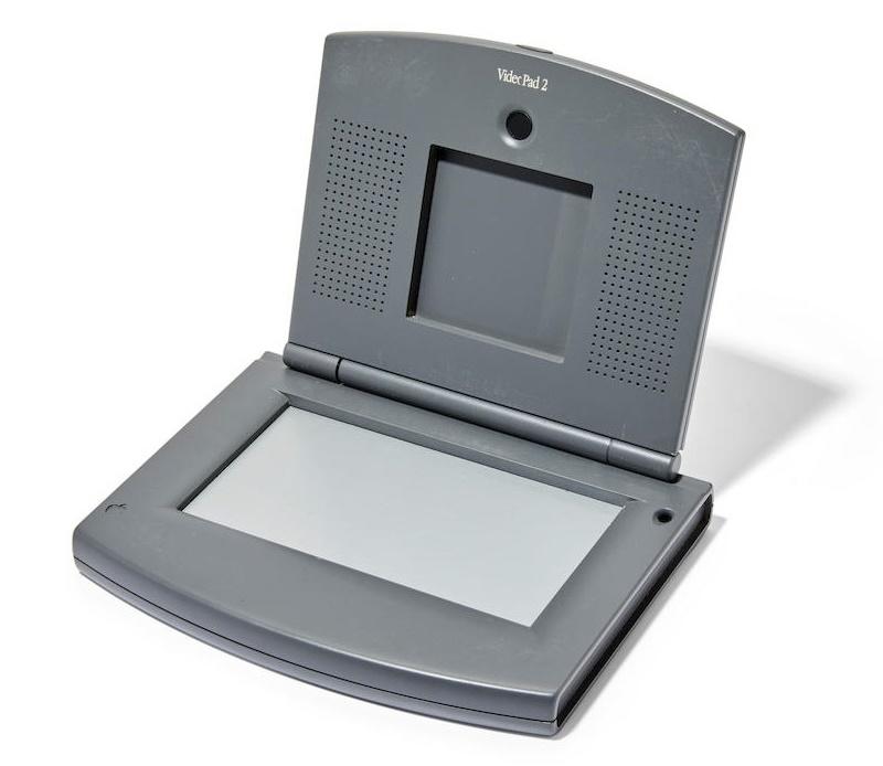 The previously unseen Apple Video Pad prototype #2 (Image: Bonhams)