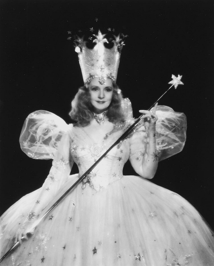 Actress Billie Burke held the wand in a portrait she specially comission from MGM studio photographer Clarence Sinclair Bull (Image: Bonhams)