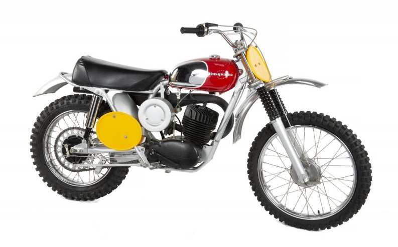 Steve McQueen's 1968 Husqvarna Viking 360 motorcycle (Image: Julien's Auctions)