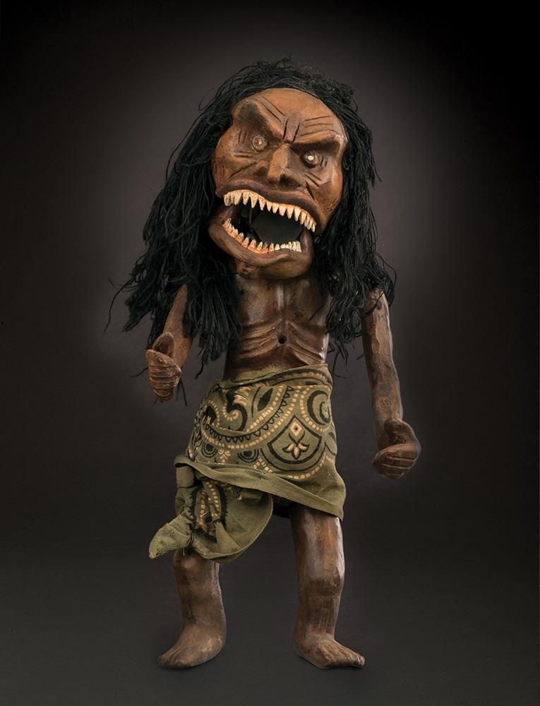 The 'hero' Zuni Doll from Trilogy of Terror (ABC-TV, 1975), which sold at Profiles in History for a record $217,600, including buyer's premium (Image: Profiles in History)