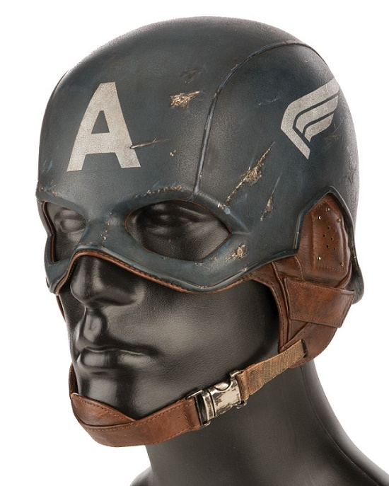 A custom-made helmet from Captain America: The First Avenger (Image: Profiles in History)