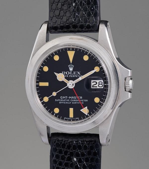 Marlon Brando's Rolex GMT-Master ref. 1675 watch (Image: Phillips).