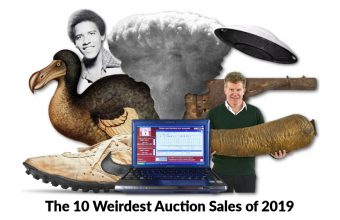 The 10 Weirdest Auction Sales of 2019