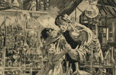 Bernie Wrightson's original Frankenstein cover art sold for world record $1.2 million