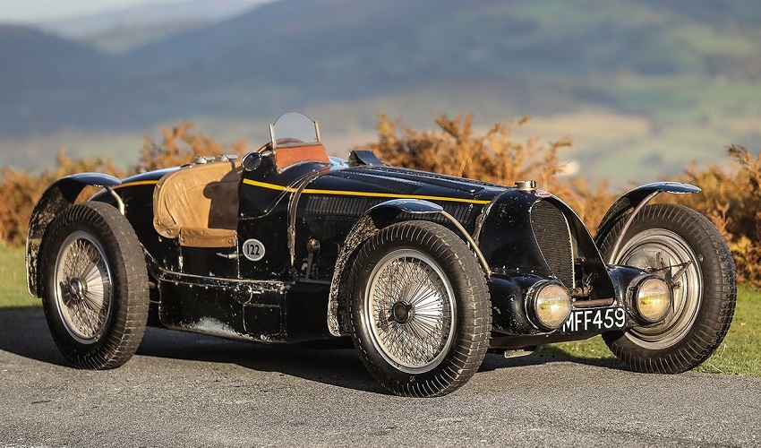 The King Leopold 1934 Bugatti Type 59 Sports (Image: Gooding & Company)