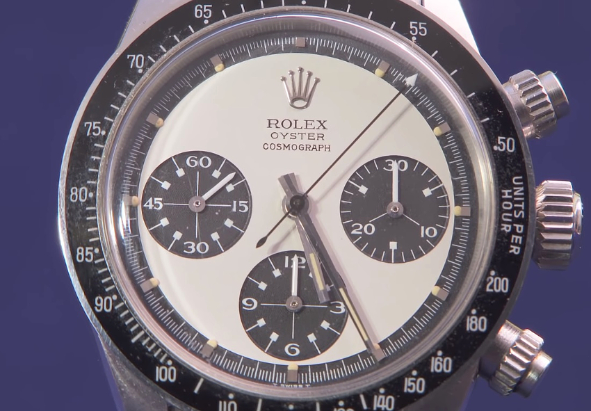 The Rolex Daytona Oster Cosmograph is one of the world's most collectible vintage watches (Image: Antiques Roadshow / PBS)