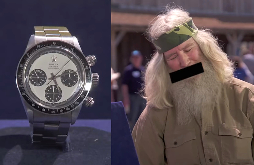 Veteran floored after finding out his Rolex is worth up to $700,000