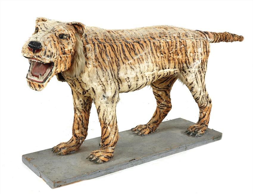 Life-size Tiger automaton