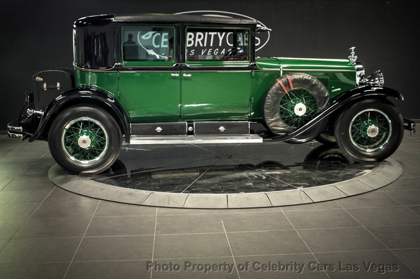 Capone's Cadillac has been exhibited in museums on both sides of the Atlantic since the 1930s (Image: Celebrity Cars Las Vegas)