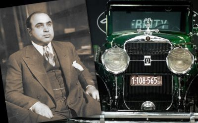 Al Capone's bullet-proof Cadillac up for sale in the U.S
