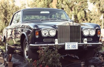 Steve McQueen's Rolls Royce from The Thomas Crown Affair