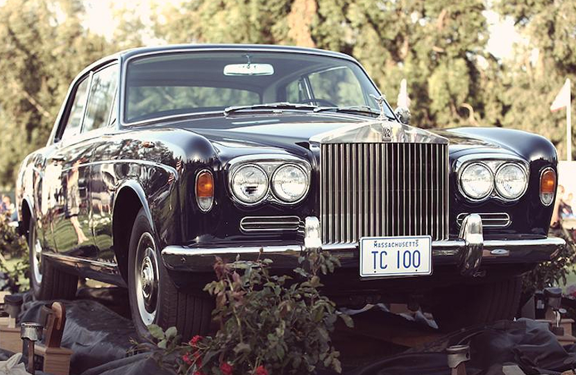 Steve McQueen's Rolls Royce from The Thomas Crown Affair
