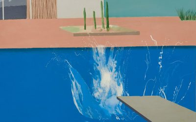 The Splash by David Hockney