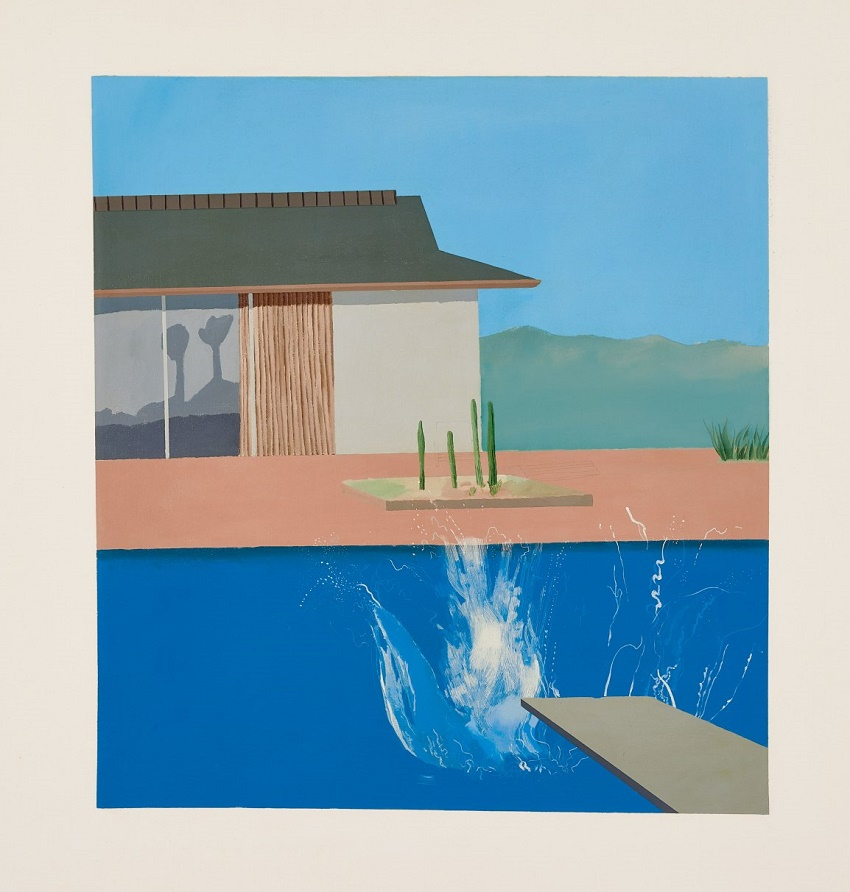 The Splash (1966) by David Hockney, estimated at £20 - £30 million (Image: Sotheby's)