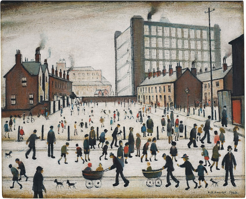 The Mill, Pendlebury by L.S Lowry (1943), estimated at £700,000 - £1 million (Image: Christie's)
