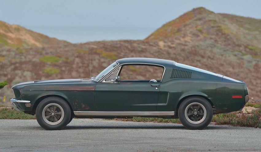 The 1968 Ford Mustang driven by Steve McQueen in Bullitt (Image: Mecum Auctions)