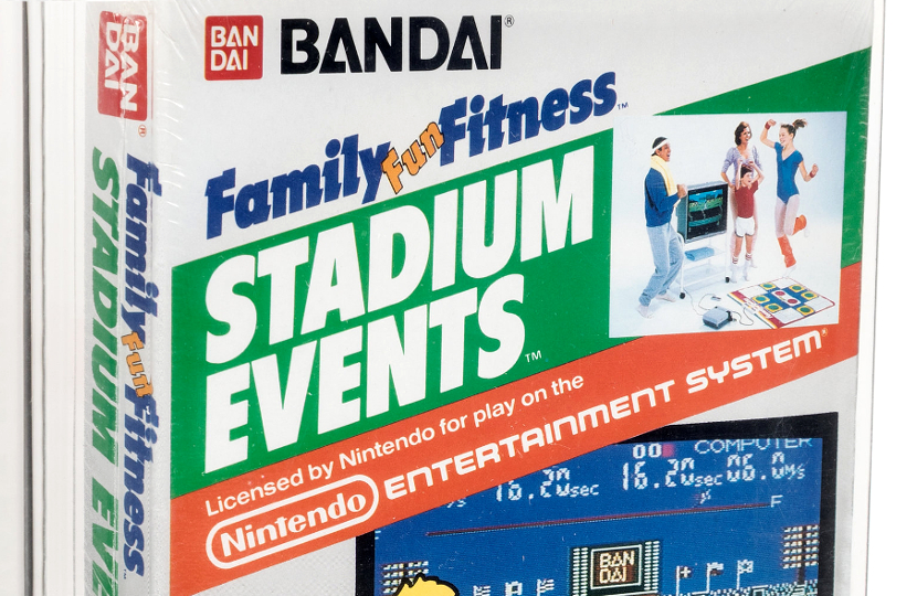 A sealed copy of the ultra-rare Nintendo video game Stadium Events is up for sale at Heritage Auctions