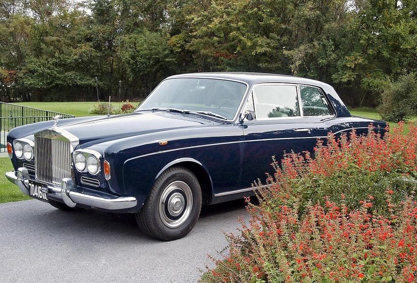 Steve McQueen's Rolls-Royce Silver Shadow from The Thomas Crown Affair (Image: Bonhams)