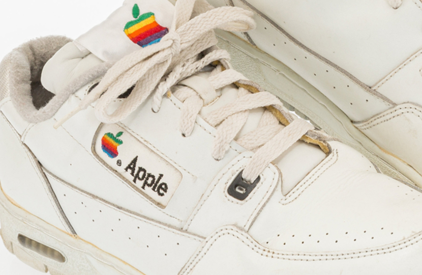 Rare Apple sneakers set to sell at Heritage Auctions