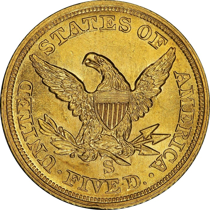 The example heading for auction is by far the finest, graded AU-58+ (PCGS), and has previously been owned by some of history's most renowned numismatists (Image: Stack's Bowers Galleries)