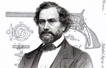 Samuel Colt's original revolver patent documents up for auction