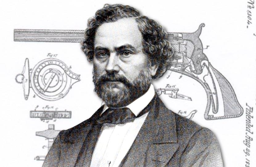 Samuel Colt's original revolver patent documents up for auction