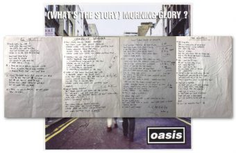 Noel Gallagher's handwritten Oasis lyrics to sell at Omega Auctions