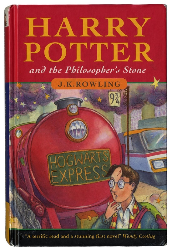 A first edition copy of Harry Potter and the Philosopher's Stone, estimated at (Image: Bonhams)