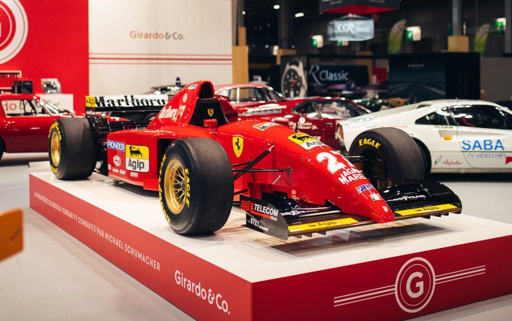Michael Schumacher S First Ferrari F1 Car Up For Sale