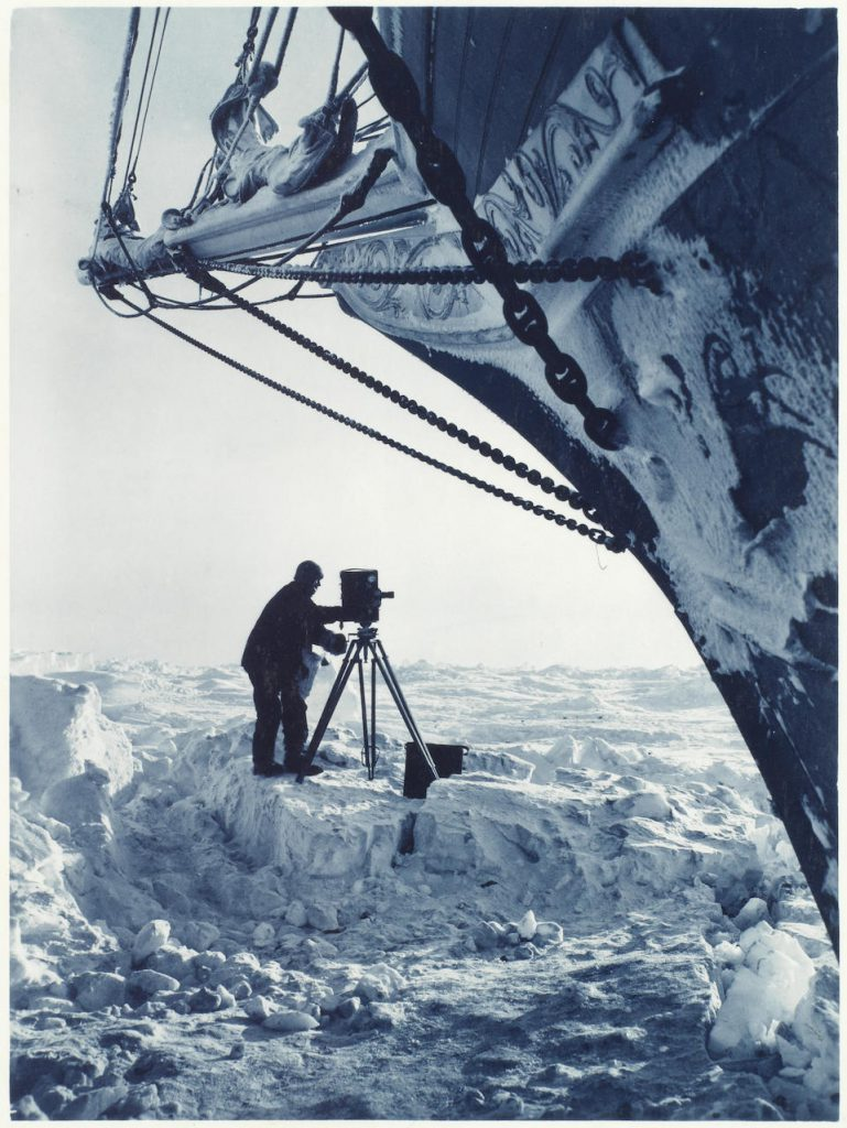 Photographer Frank Hurley captured remarkable scenes throughout the ill-fated expedition (Image: Bonhams)