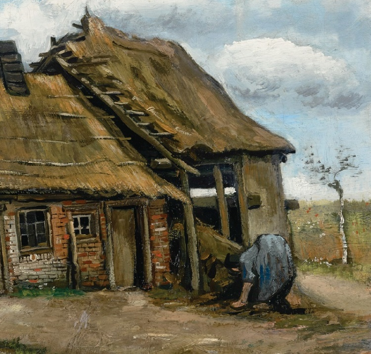 Van Gogh produced the landscape in the summer of 1885, just three years after he took up painting seriously at the age of 28 (Image: Simon C. Dickinson)