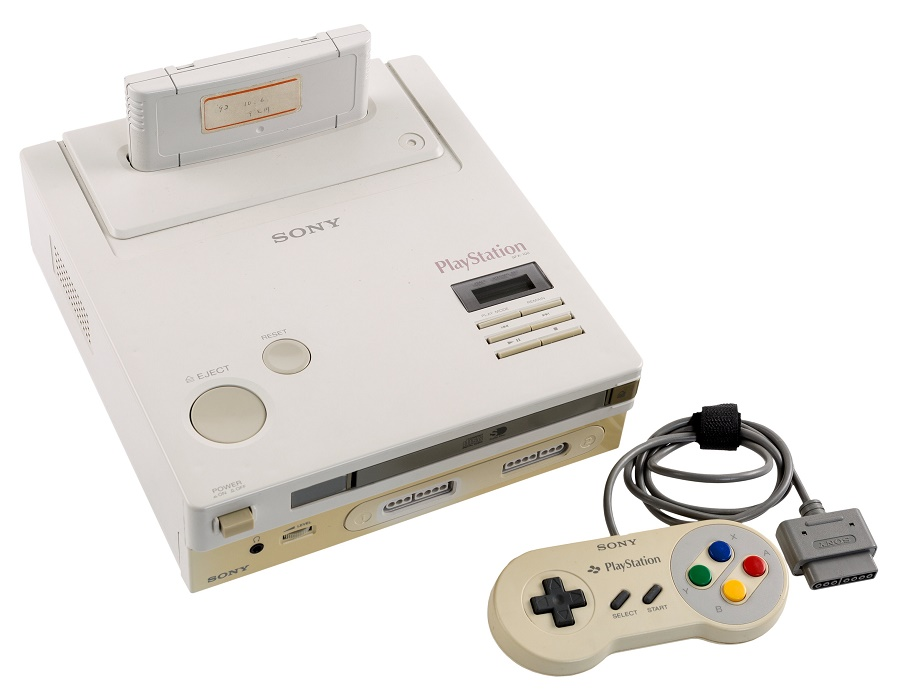 The only surviving example of the prototype Nintendo Playstation (Image: Heritage Auctions)